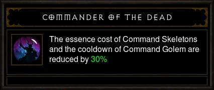 commander of the dead