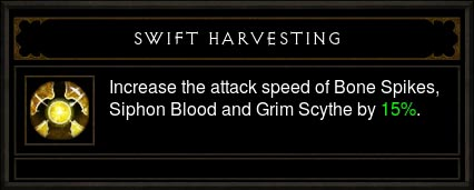 swift harvesting
