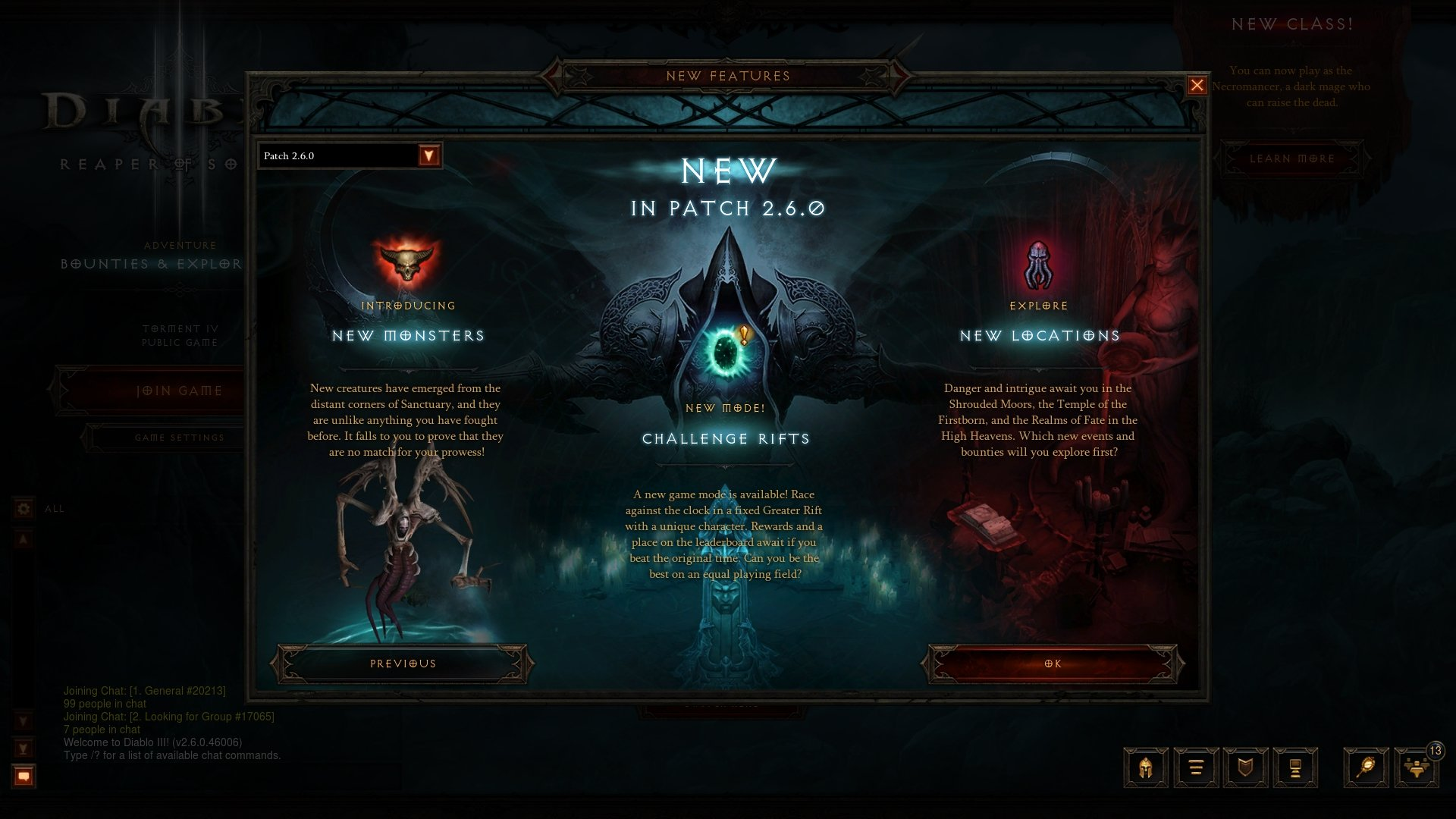 Diablo III Patch 2.6.0