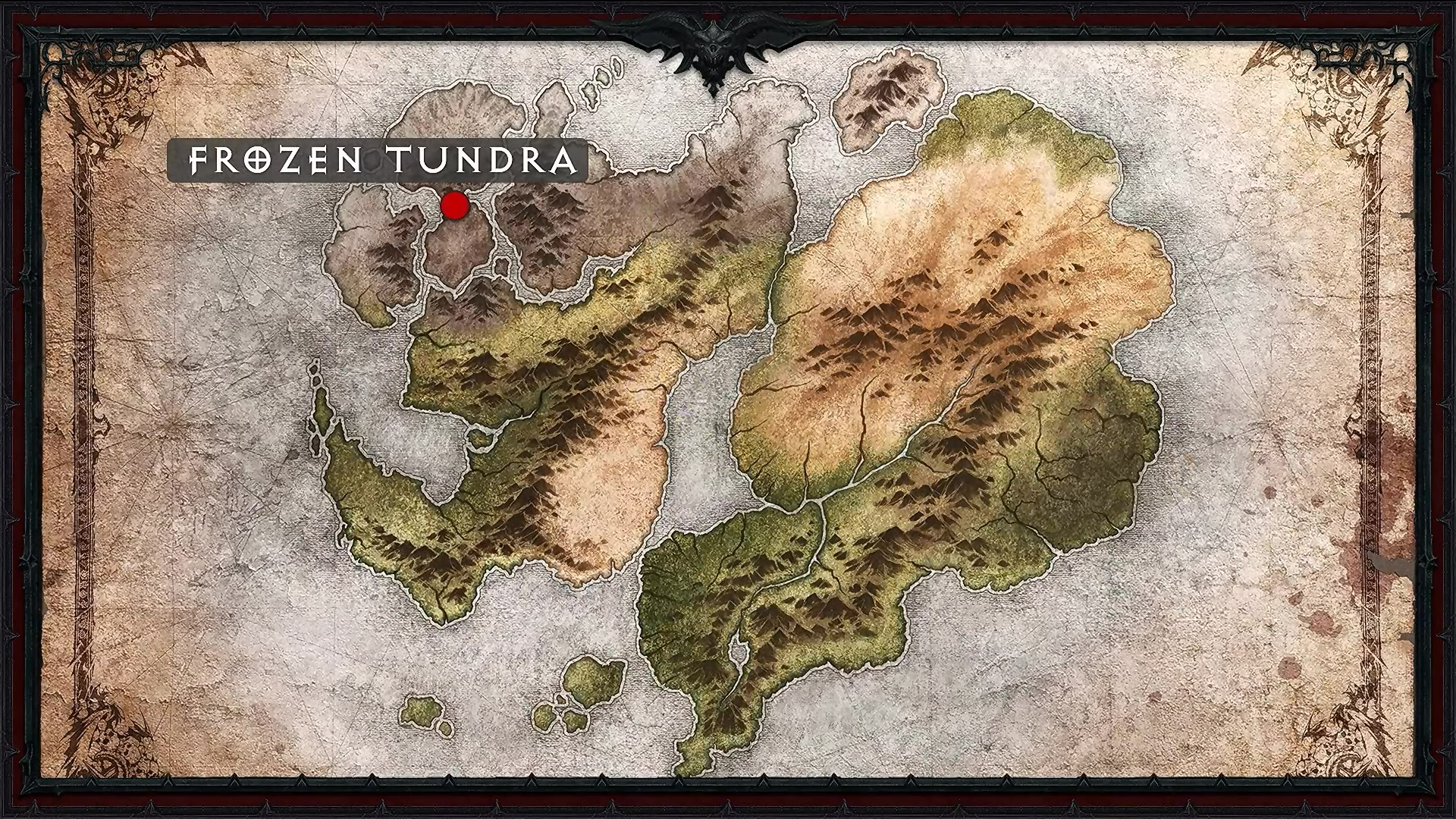 Frozen Tundra map