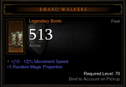 Diablo  Legendary Crafting Materials Drop Rate