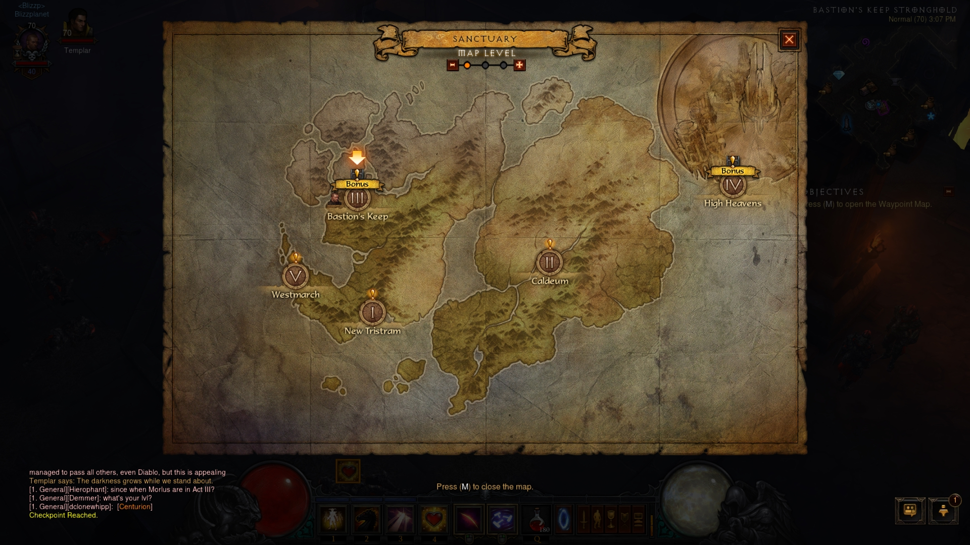 blizzplanet diablo iii sanctuary map navigation ui changes diablo iii reaper of souls