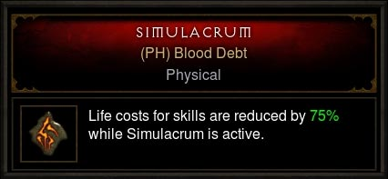 blood debt