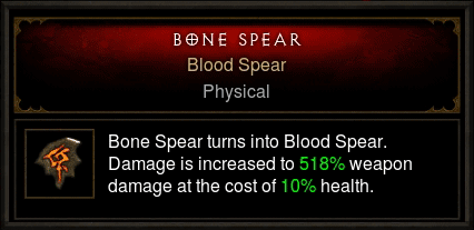 blood spear