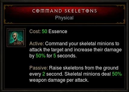 command skeletons