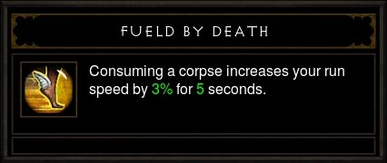 fueled by death