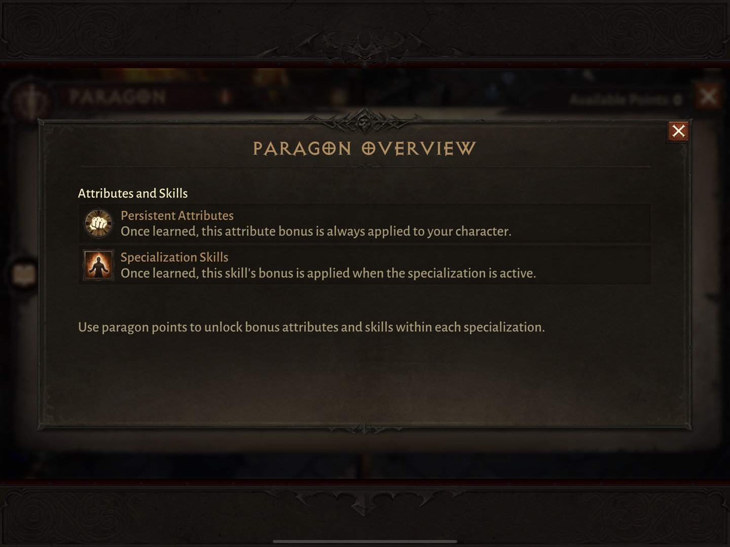 Paragons Overview