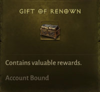 gift of renown