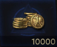 10000 gold